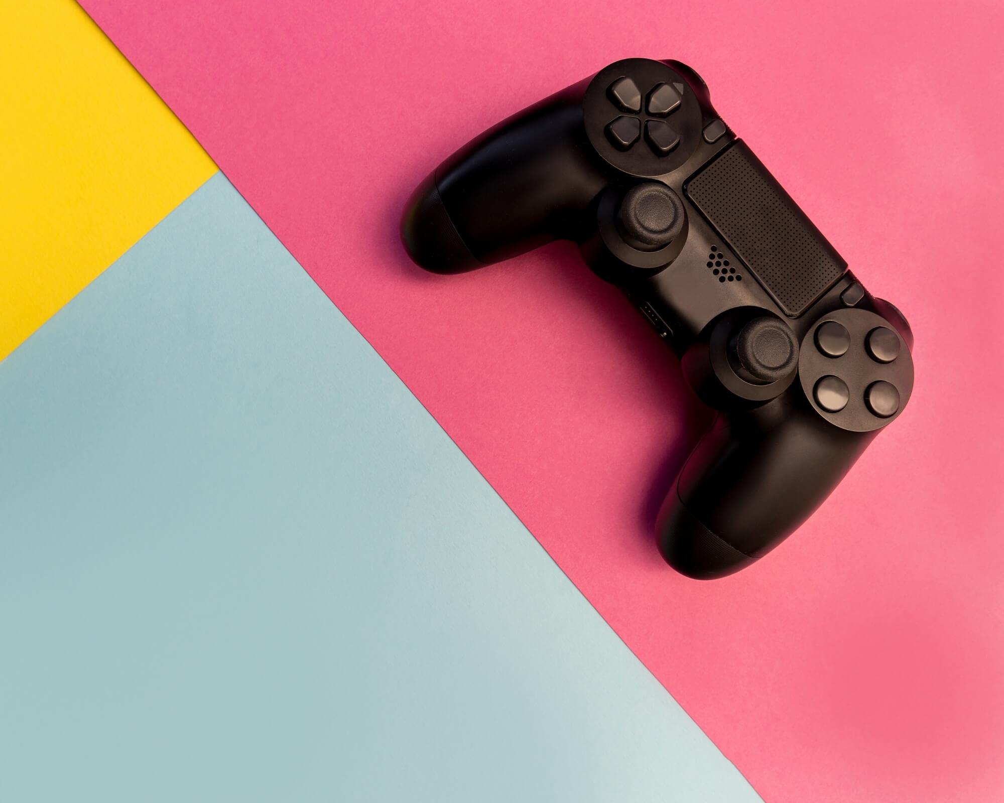 una consola para jugar a videojuegos