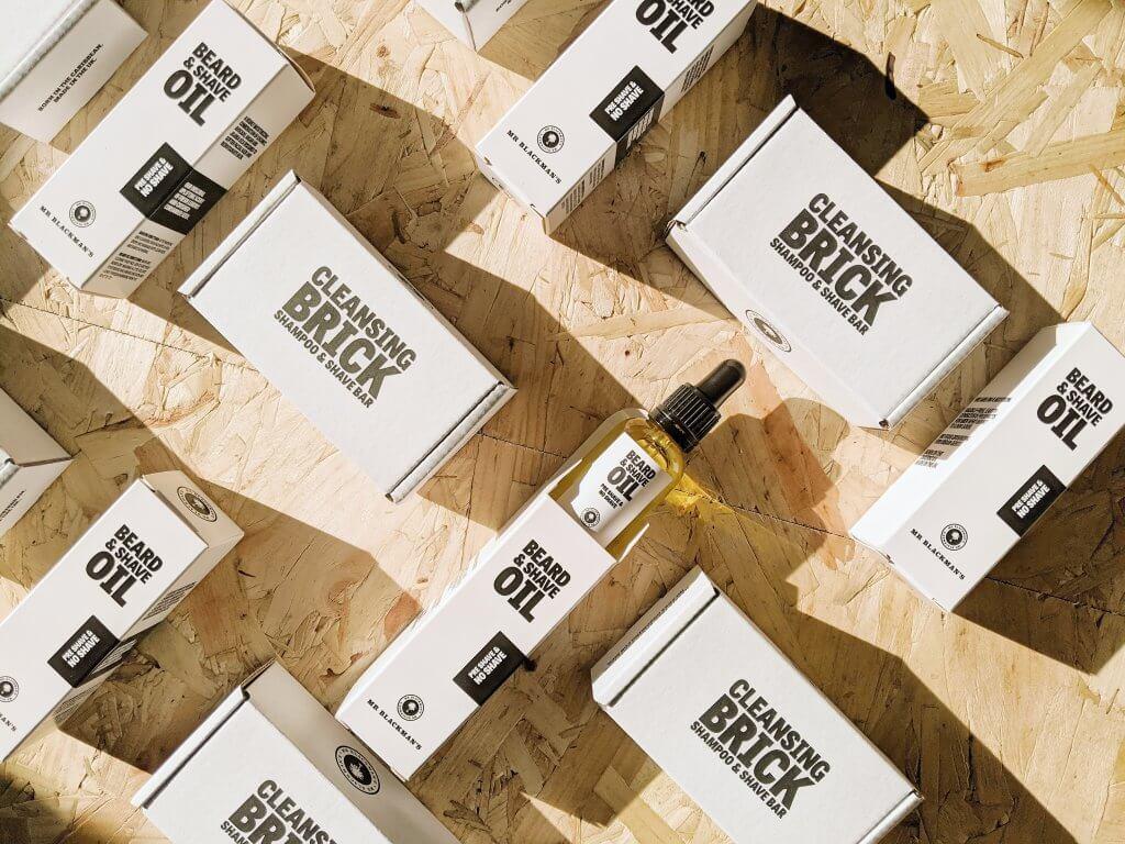 beard oil packaging