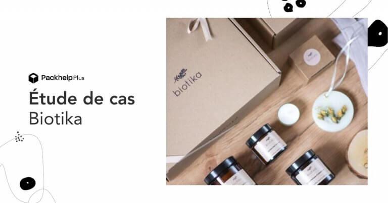 Comment la marque bien-être Biotika a optimisé son packaging en passant en D2C
