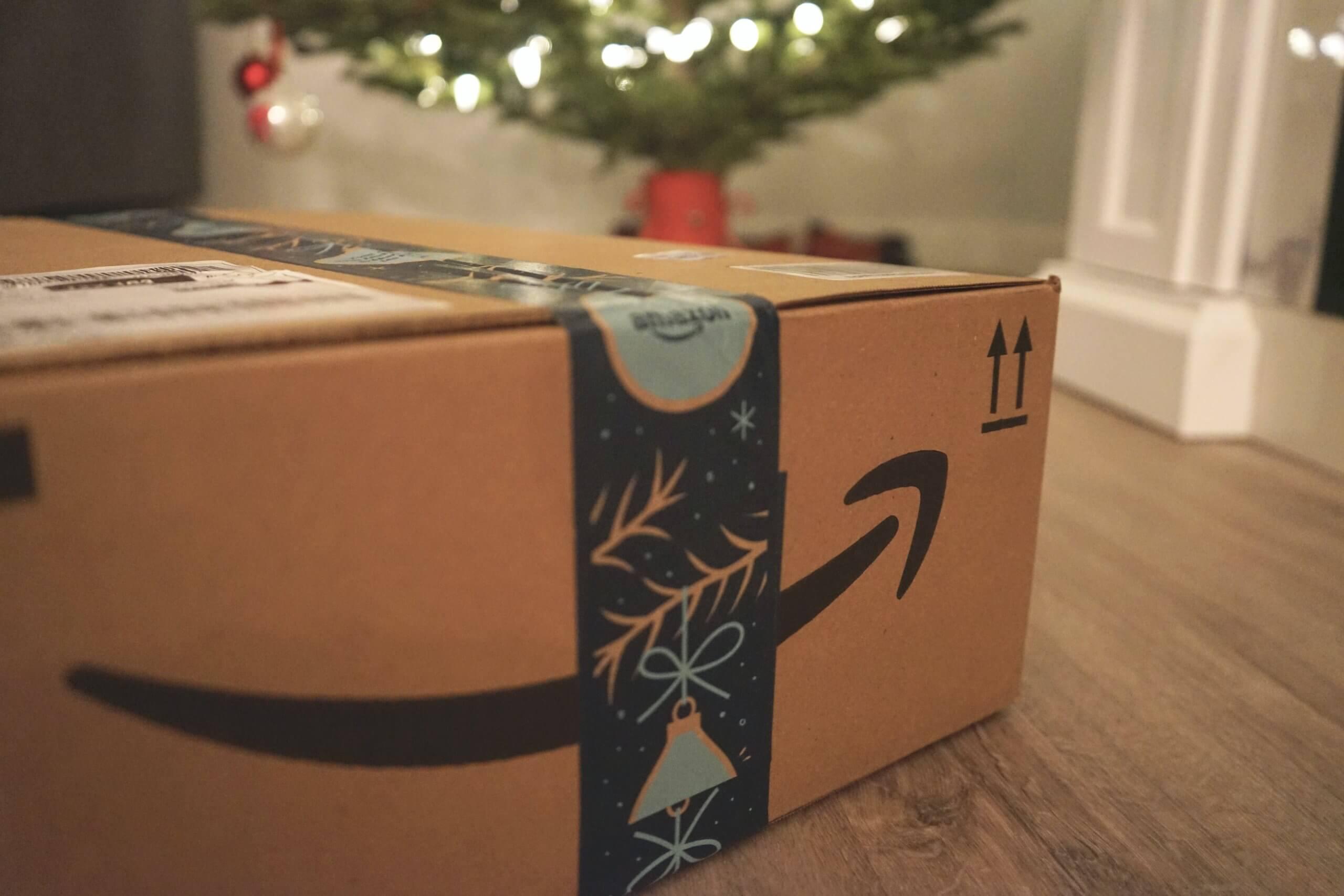 Caja de Amazon Navidad