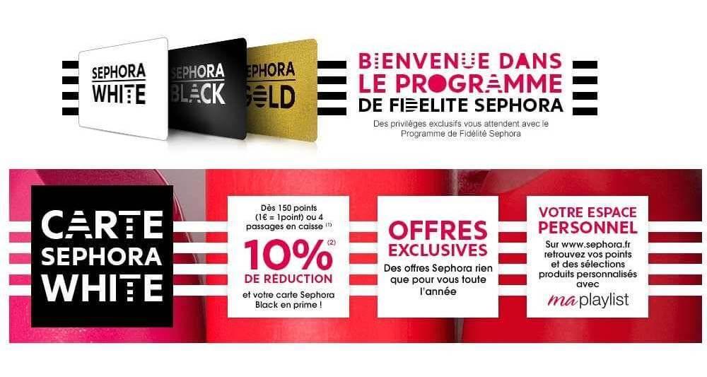 Programme de fidélité Sephora