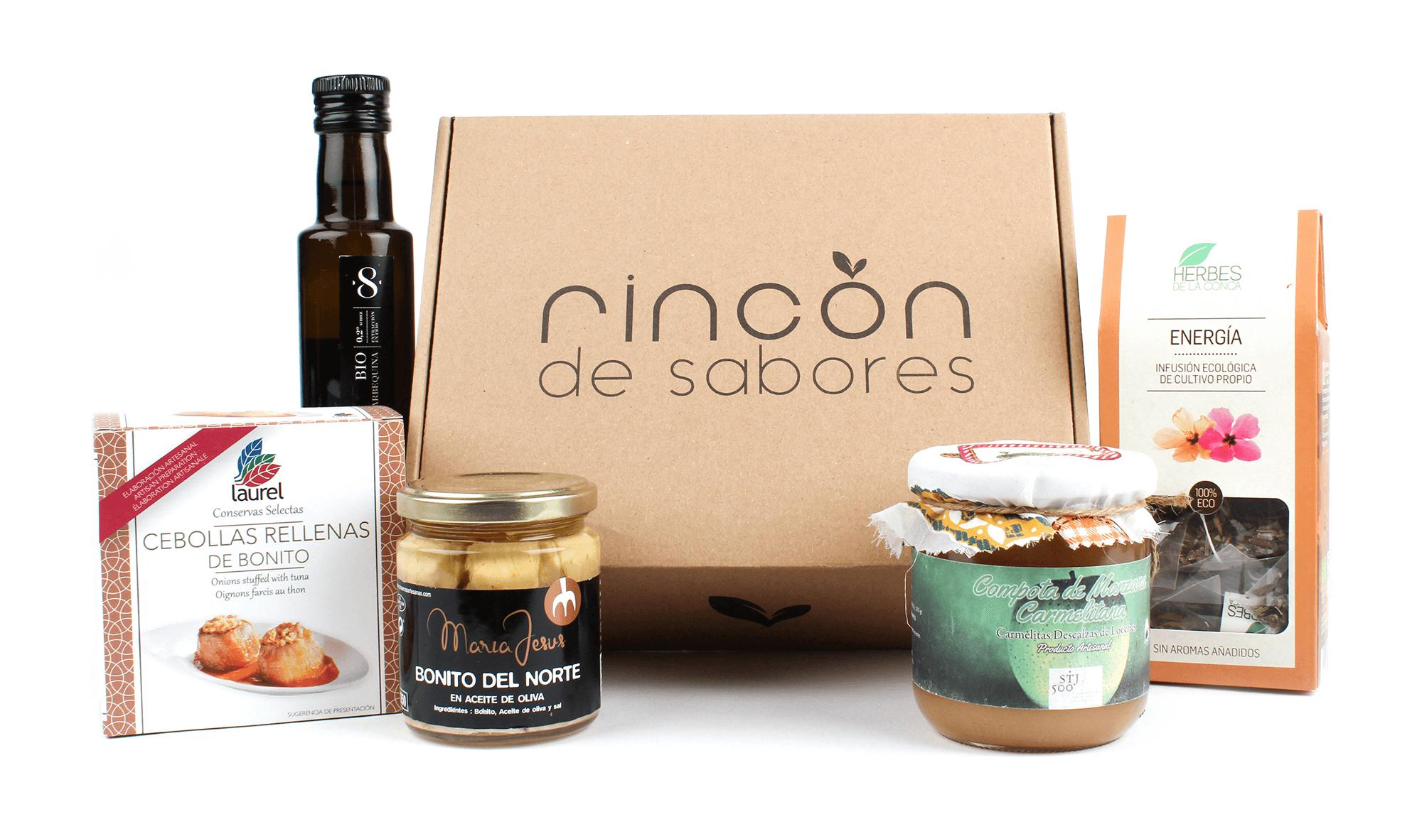 Rincón de Sabores envía delicatessen en cajas postales
