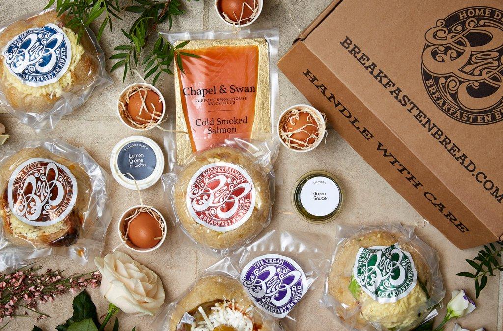 Geschenkboxen Breakfast en Bread