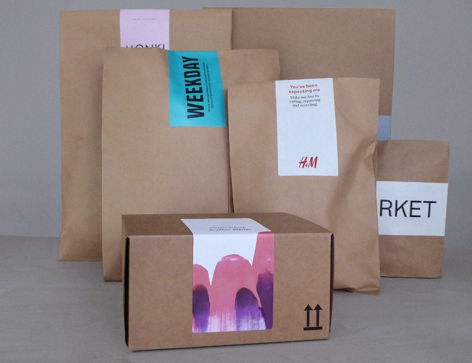 Nouveau packaging H&M écologique