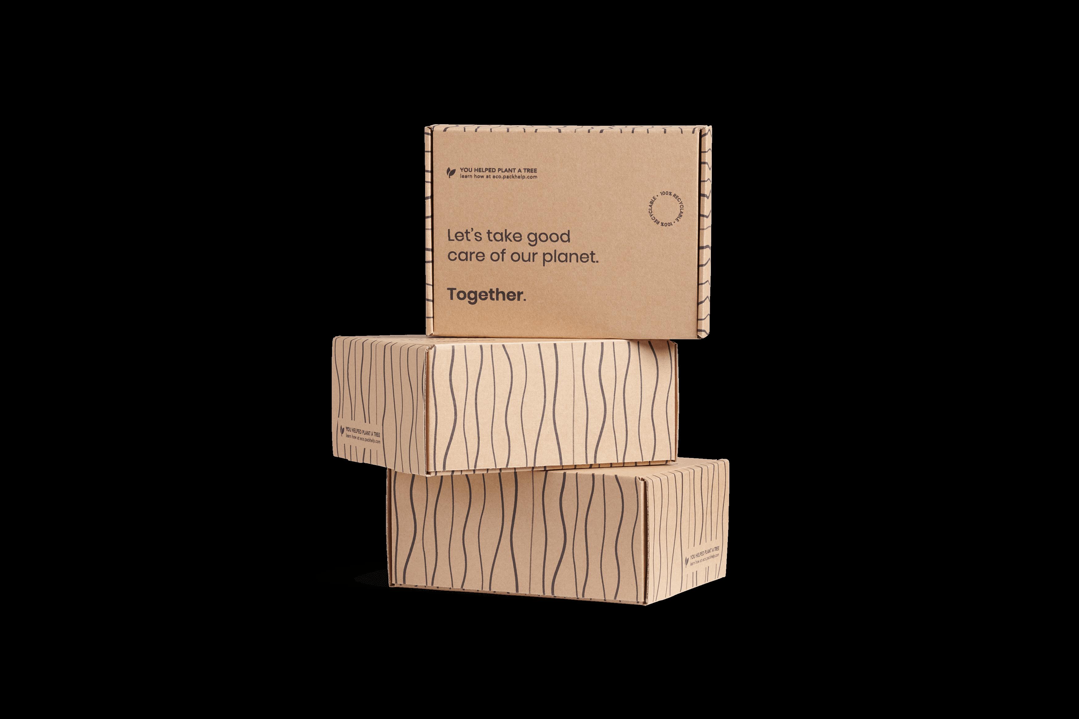scatole postali di cartone