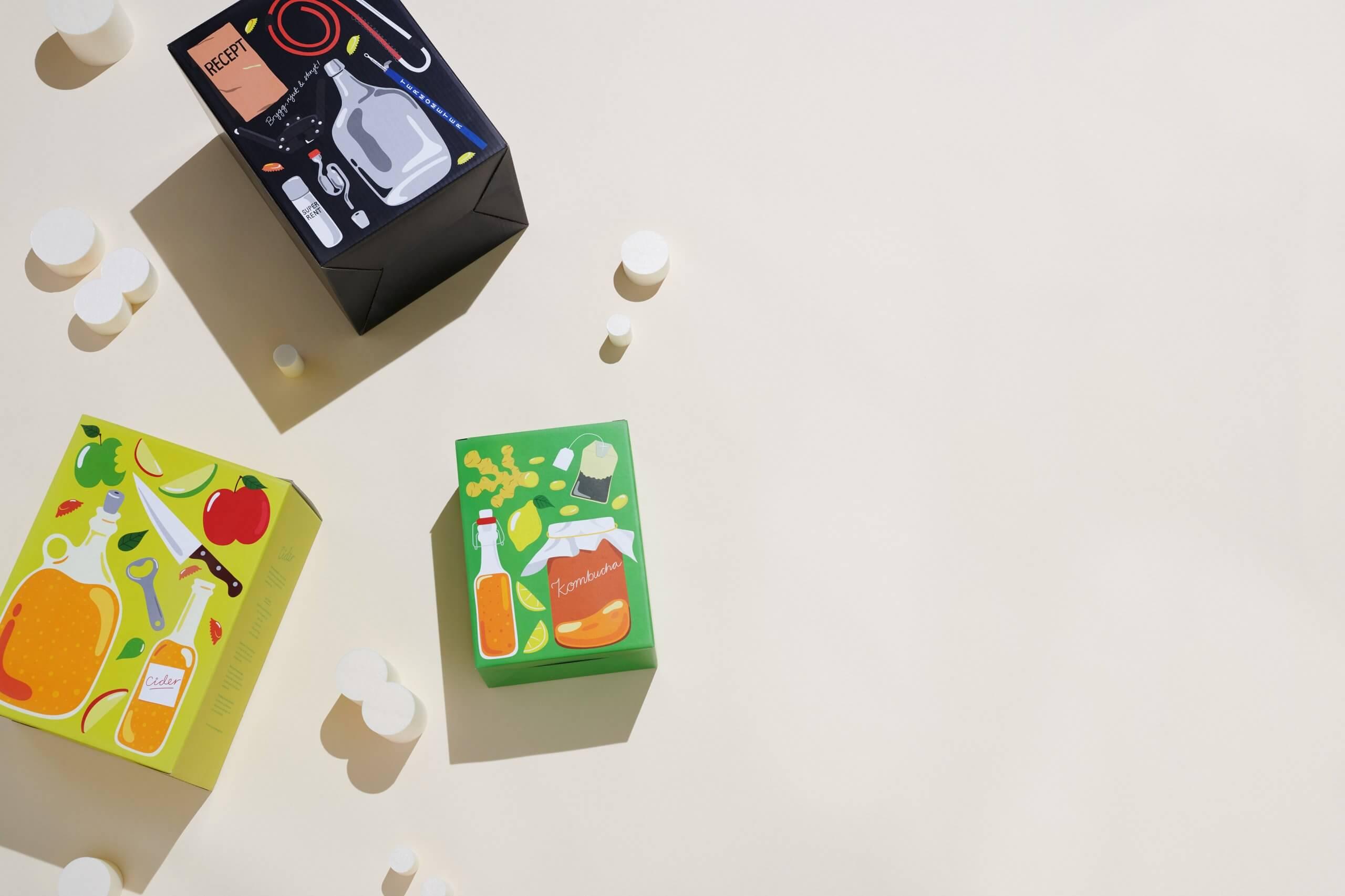Det lilla köksbryggeriet packaging Packhelp