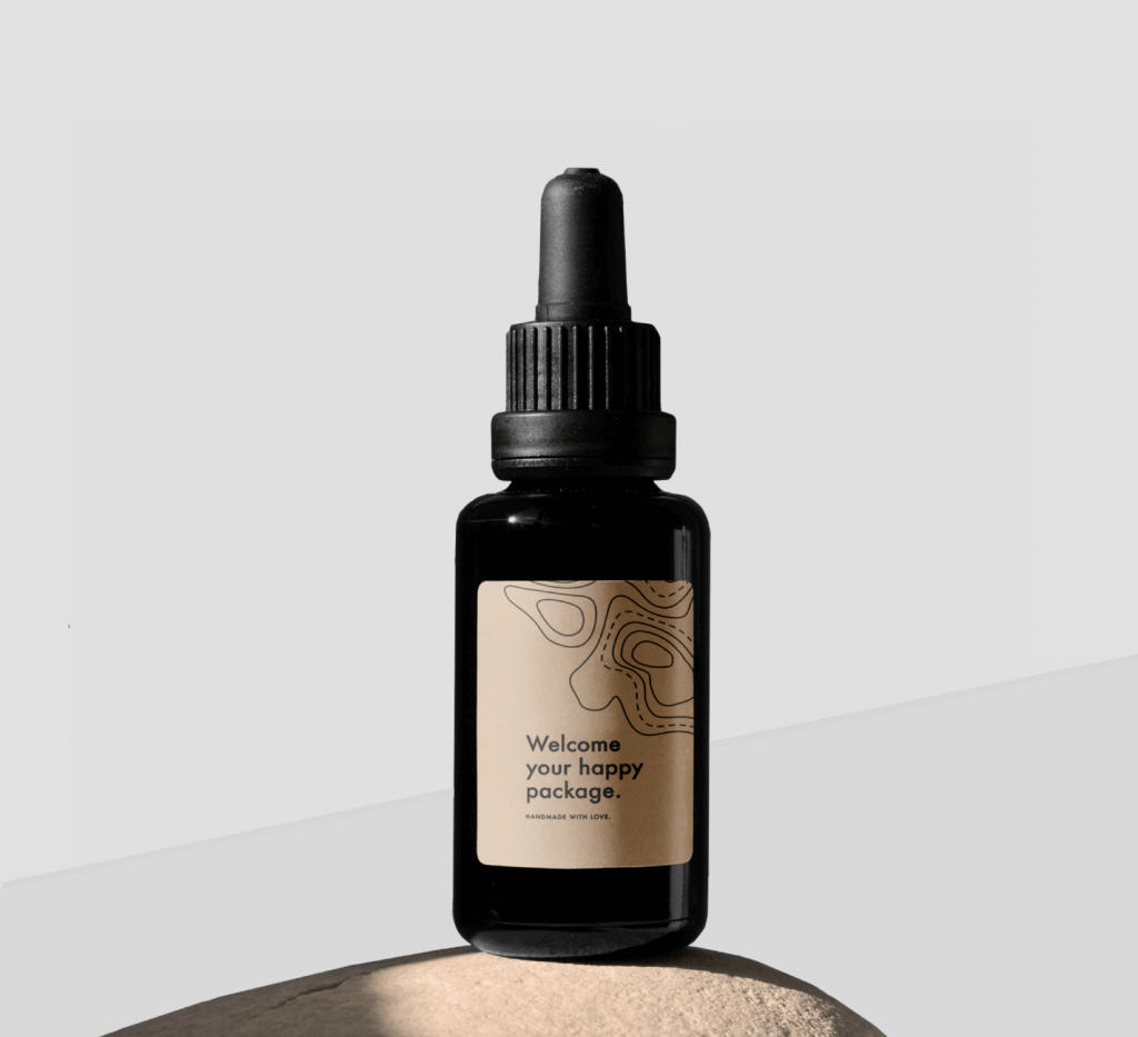 Custom labels- Bottle