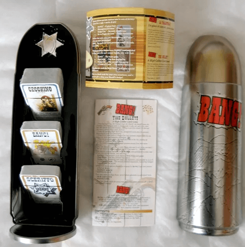 Bang the Bullet Game packaging