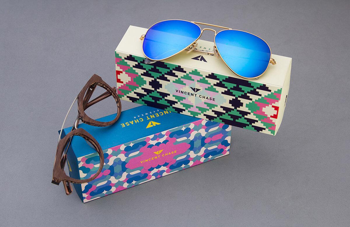 Vincent Chase sunglasses packaging