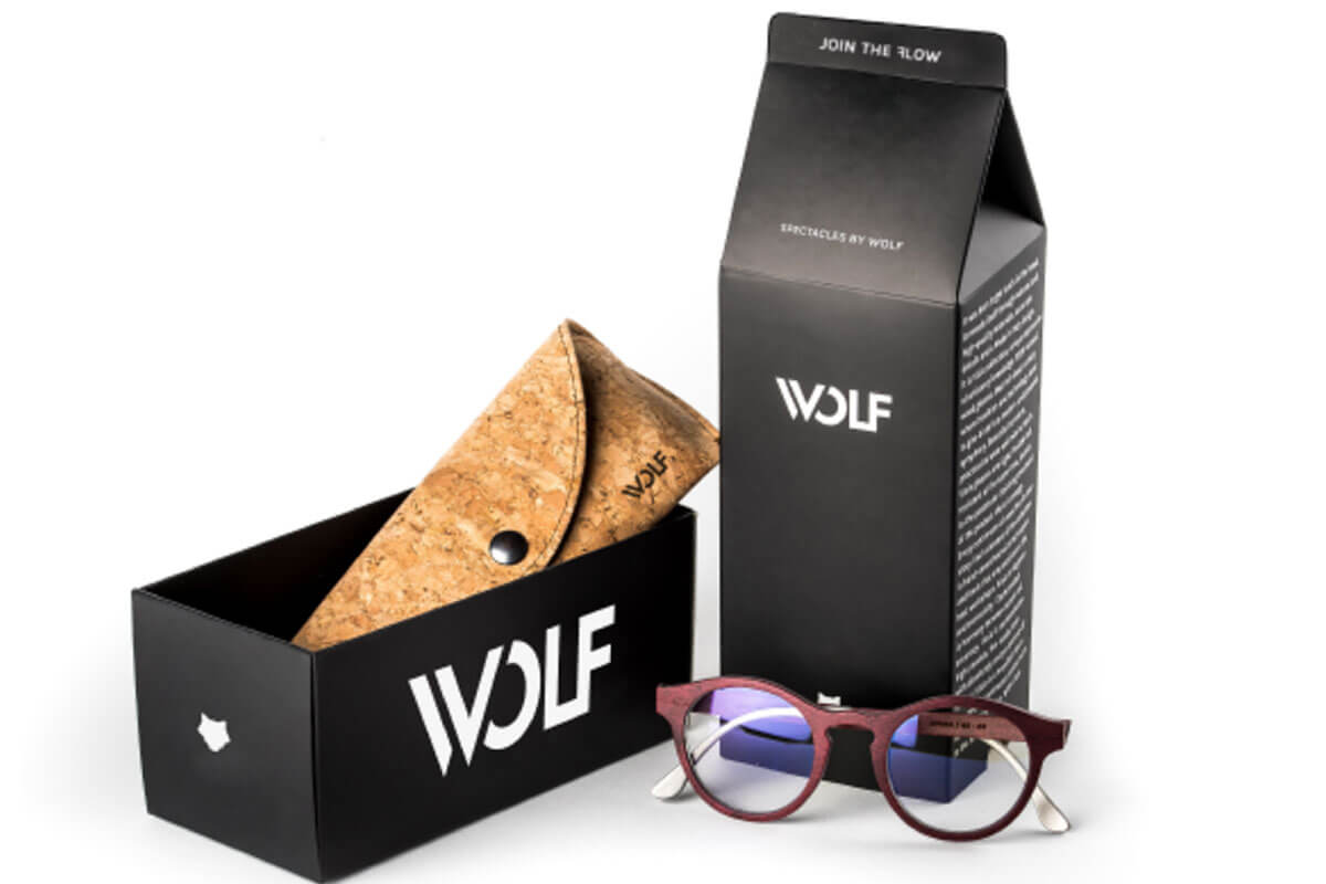 VISIO sunglasses packaging