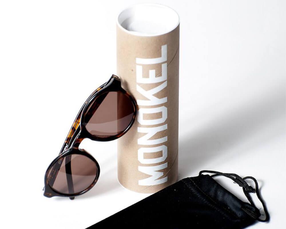 Monokel Eyewear packaging