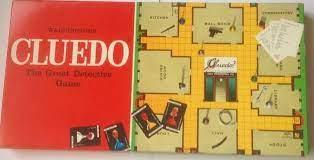 Cluedo vintage board game packaging