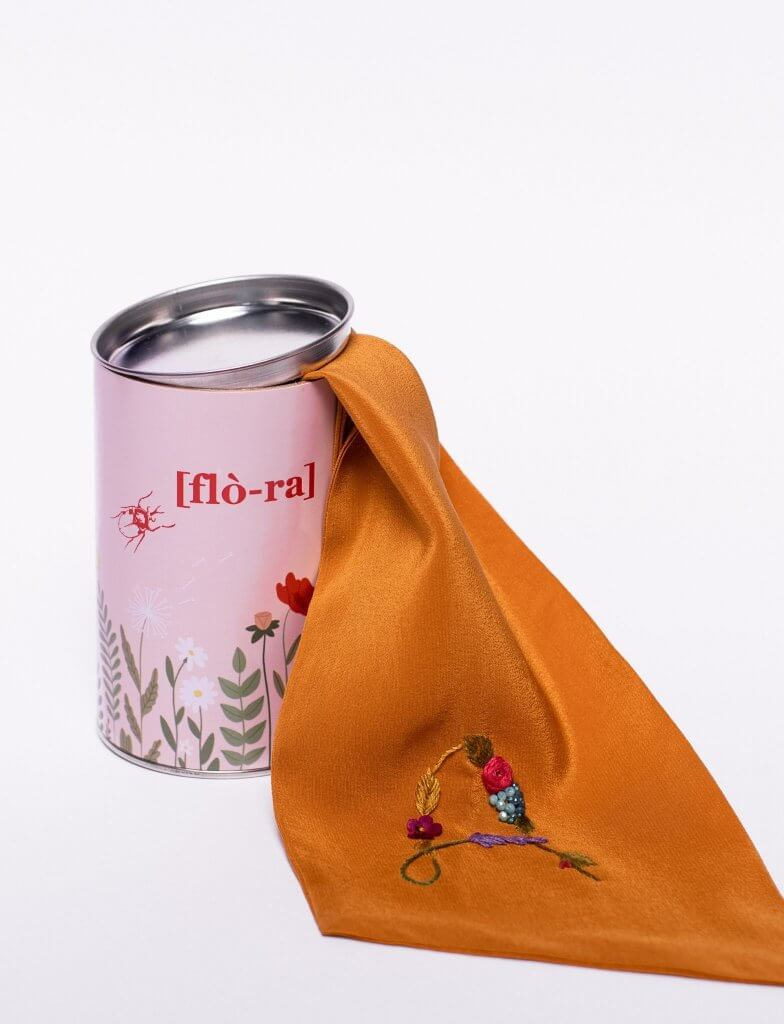 lattina in cartone colorata flò-ra