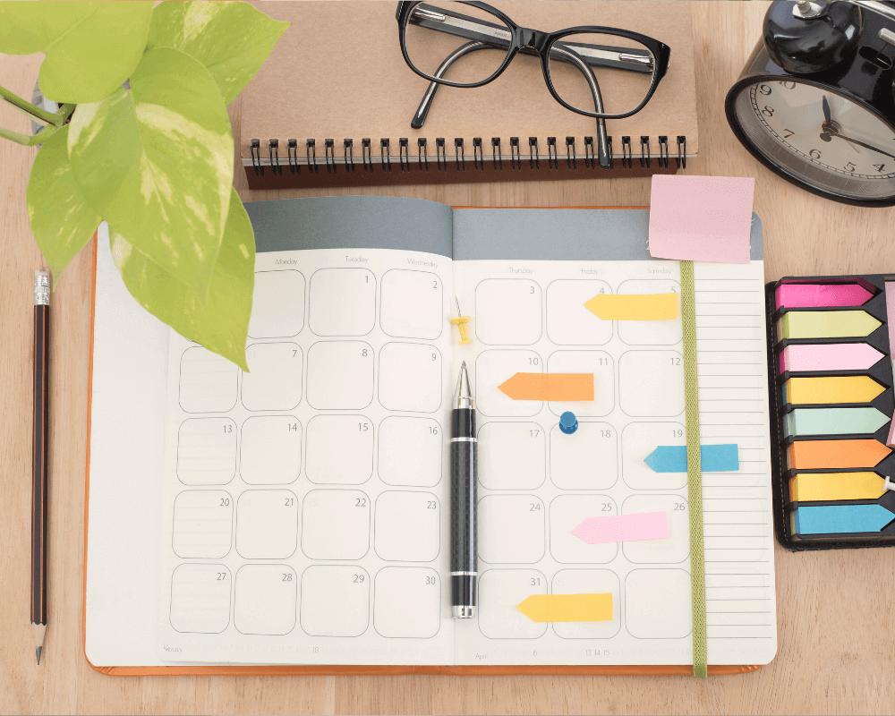 Agenda para planificar contenido para Instagram