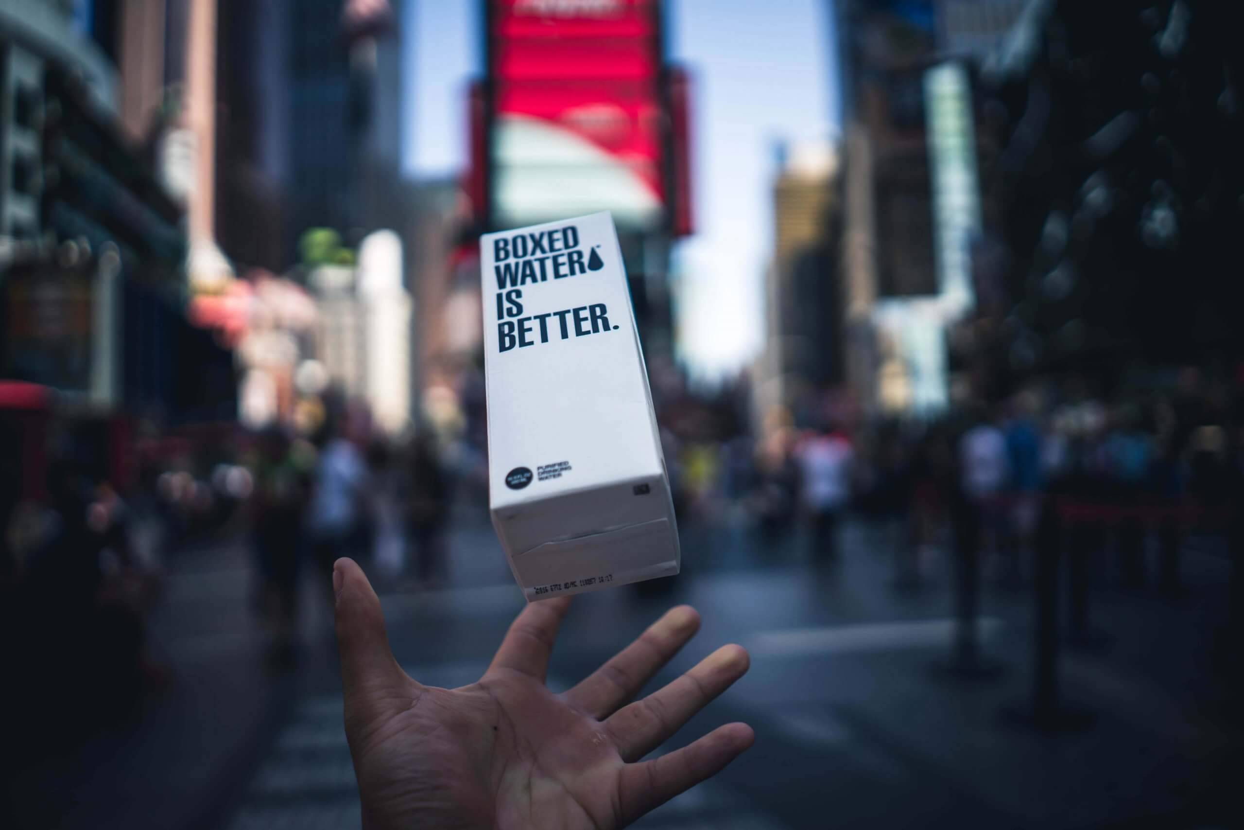 cutie boxed water