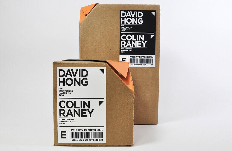 cutie cu sistem de deschidere