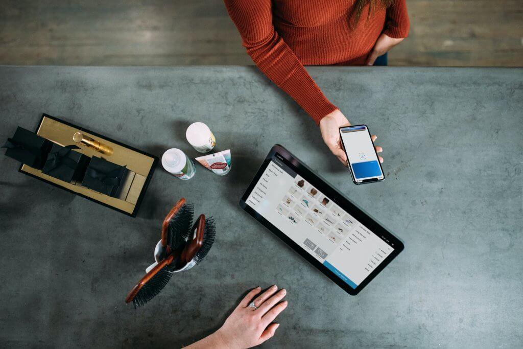 Omnichannel online shopping