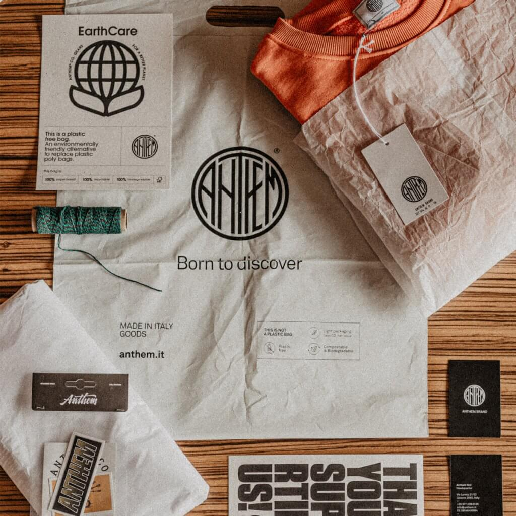 Anthem Brand Co. packaging