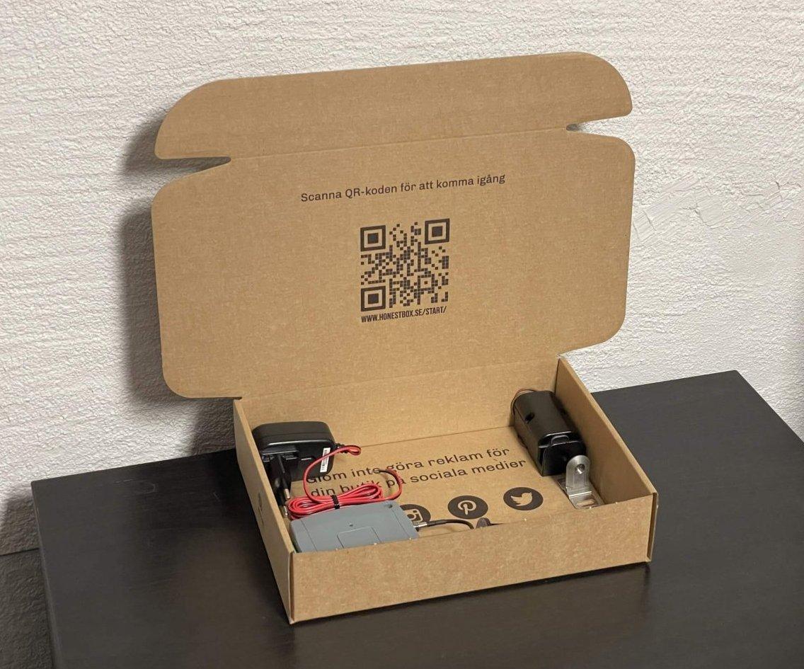 HonestBox packaging