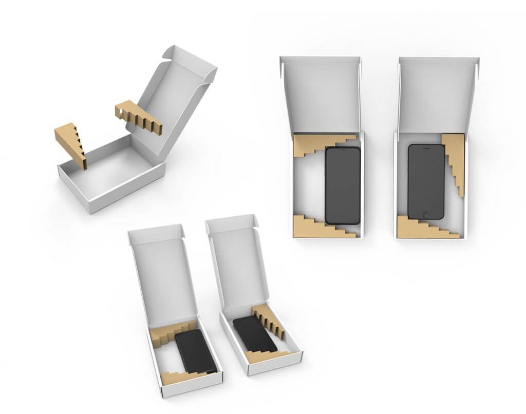 Inlay Handyverpackung