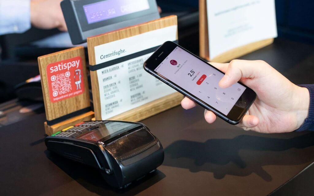 retail e pagamento con satispay