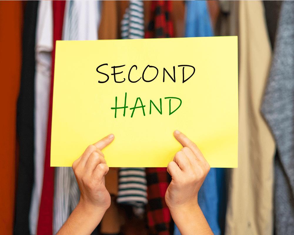 los comercios de segunda mano promueven la reutilización