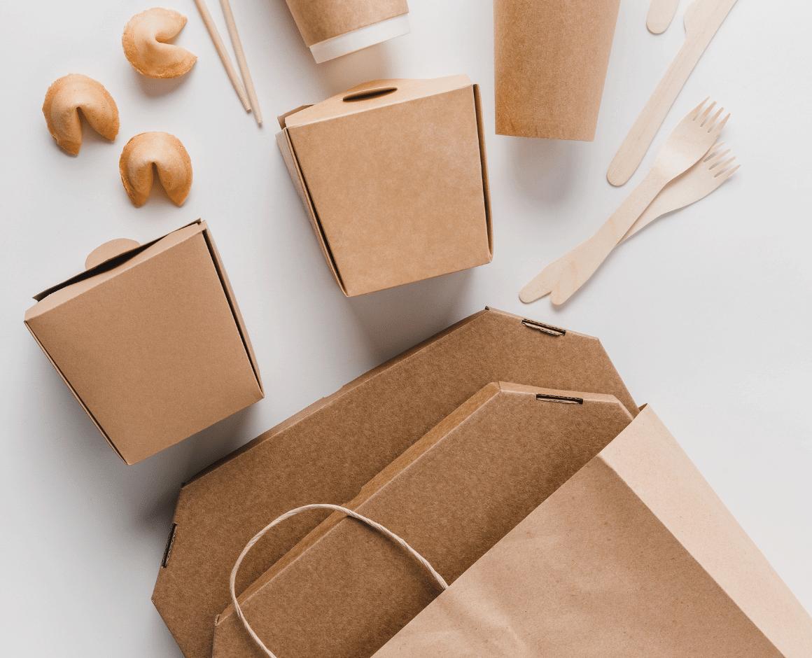envases take away de cartón