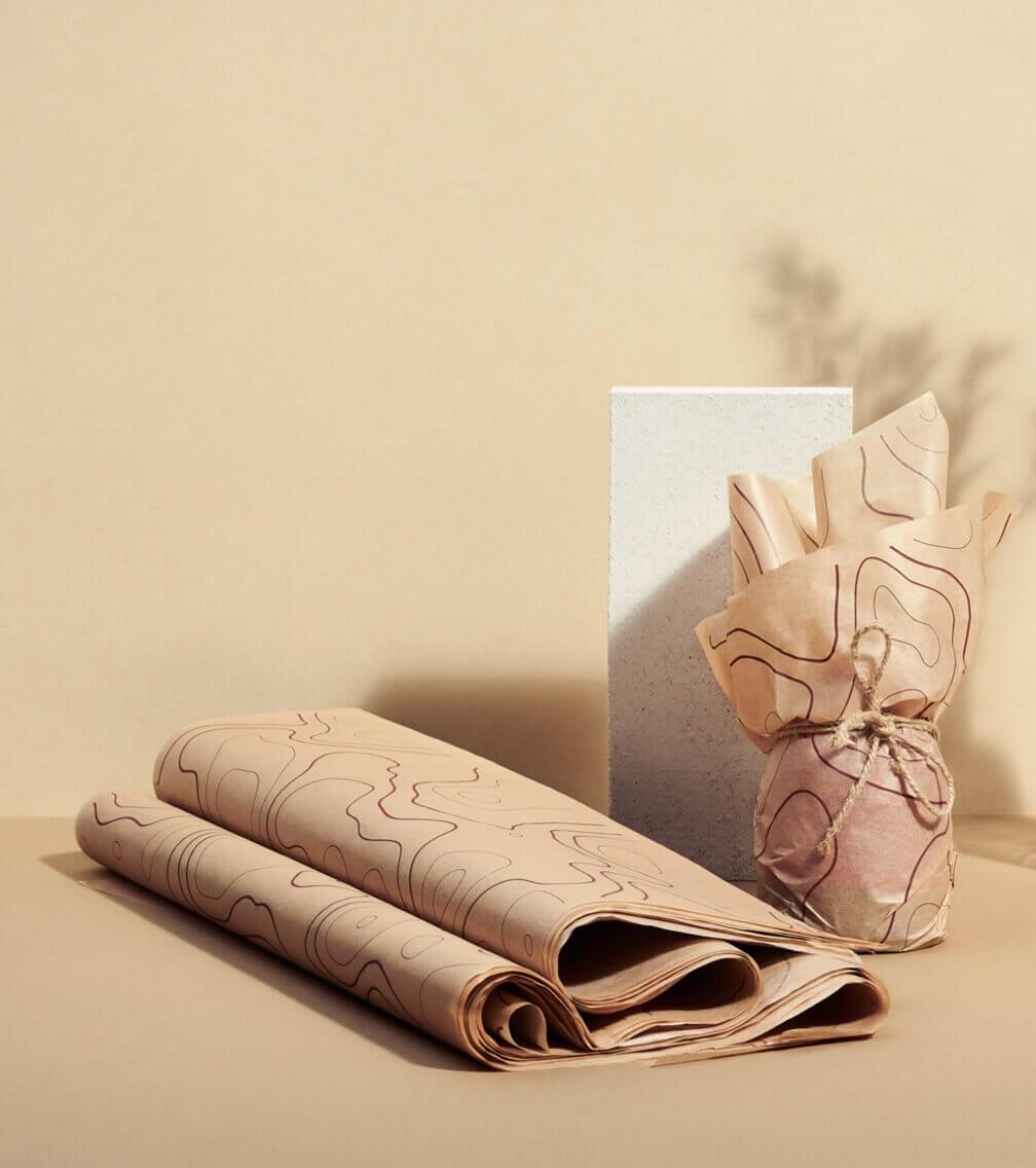 papel vegetal para proteger artículos frágiles