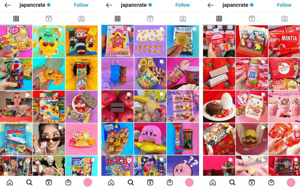 JapanCrate Instagram Account
