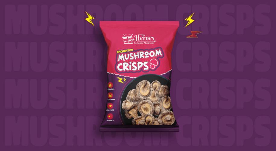 crisp food packaging design