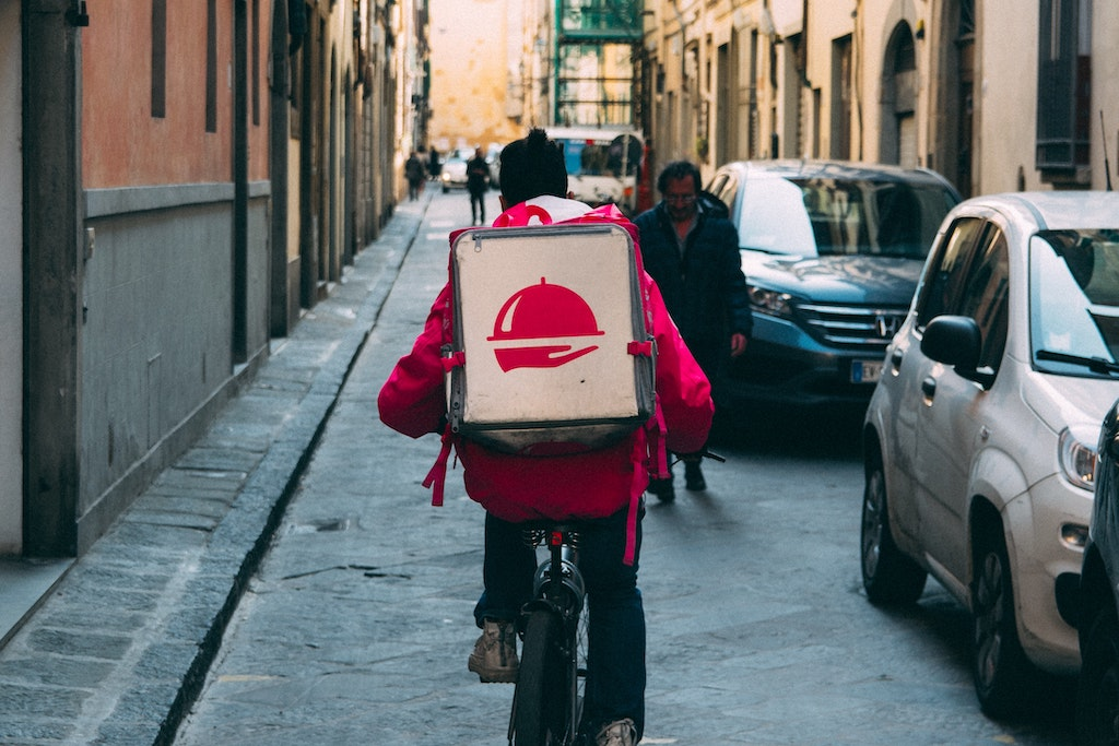 livreur delivery